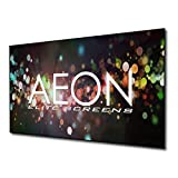 Elite Screens Aeon, 135-inch Diagonal 16:9, 8K 4K Ultra HD Ready Ceiling Light Rejecting and Ambient Light Rejecting EDGE FREE Fixed Frame Projector Screen, CineGrey 3D Projection Material, AR135DHD3