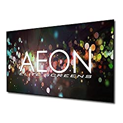 Elite Screens Aeon Auhd Series 120 Inch 16 9 4k Home Theater Fixed Frame Edge Free Borderless Projection Sound Transparent Perforated Weave Projector Screen Ar120h2 Auhd