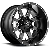 Fuel Offroad D538 Maverick 17x10 8x170 -24mm Black/Milled Wheel Rim