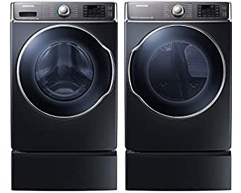 Amazon Com Samsung Appliance Onyx Front Load Laundry Pair