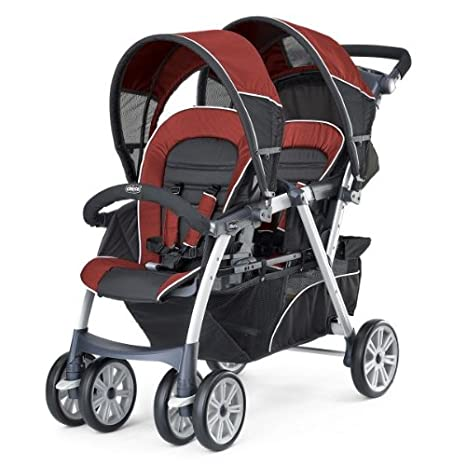 Amazon.com: Chicco cortina junto carriola de bebé doble ...