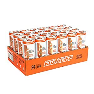 Kill Cliff Electrolyte Recovery Drink, Blood Orange, 12 Ounce, 24 Count; Low Cal, No Sugar