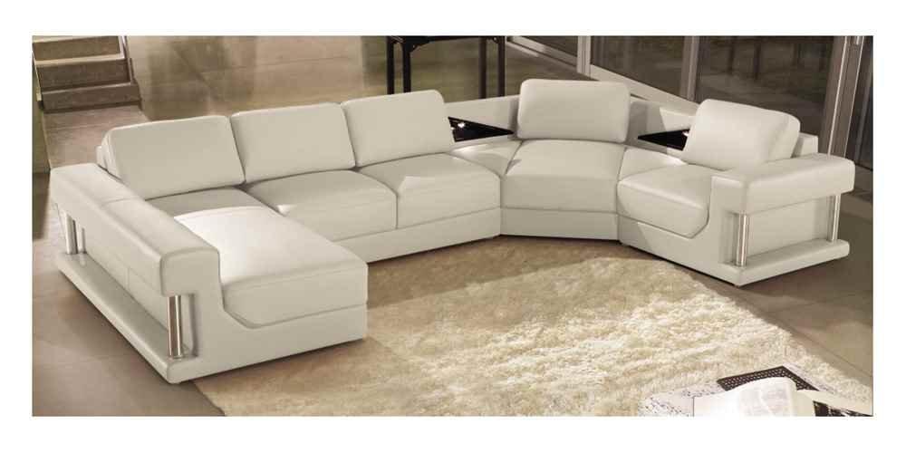 Amazon.com: Marthena Home Furnishings Eben 4-Pc Sectional ...