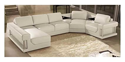 Amazon.com: Marthena Home Furnishings Eben 4-Pc Sectional ...