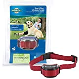 PetSafe Stubborn Dog Stay + Play Wireless Fence Receiver Collar, Waterproof and Rechargeable, Tone and Static Correction
