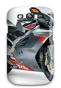 Hot Design Premium TywDono2733dmceN Tpu Case Cover Galaxy S3 Protection Case(aprilia Rsv 1000 Christmas)