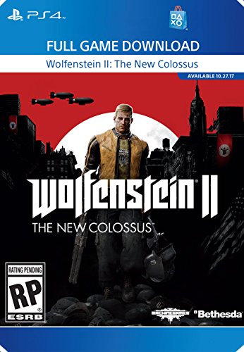 Wolfenstein II: The New Colossus - PS4 [Digital Code] by Bethesda