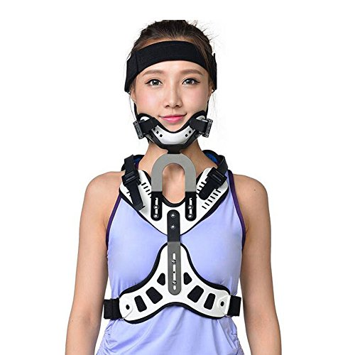 Medical Cervical Vertebra Fixation Orthoses Adjustable Ober Head Neck Chest Supports Tractor Traction Neck Brace Treatment Spondylosis Correction Breathable Device by Ober