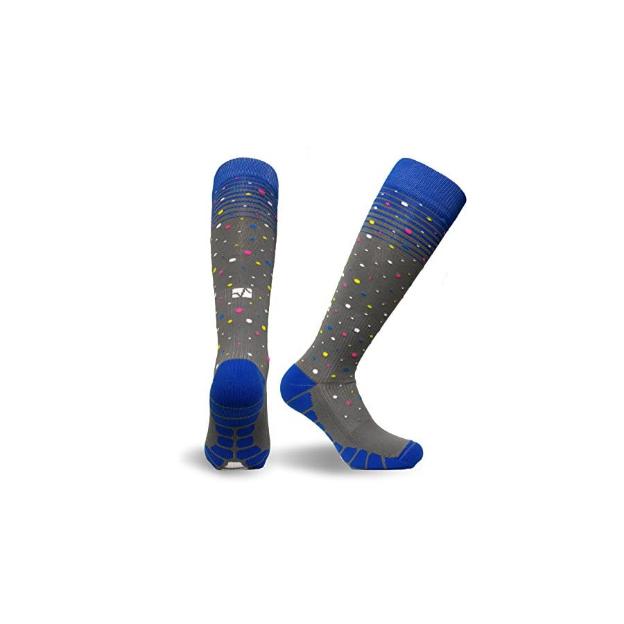 Vitalsox Italy, Patented Graduated Compression Socks Pairs VT1211 Silver Drysat Series