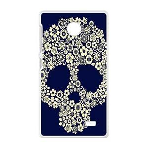 skull Phone Case for Nokia Lumia X Case