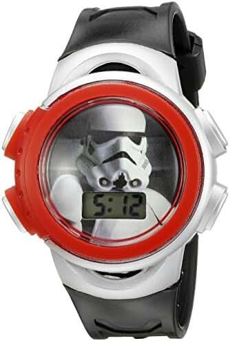Star Wars Kids' SWCKD303CT Digital Display Quartz Black Watch