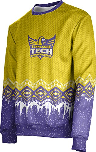 ProSphere Tennessee Technological University Ugly Holiday Unisex Sweater - Frost FE622