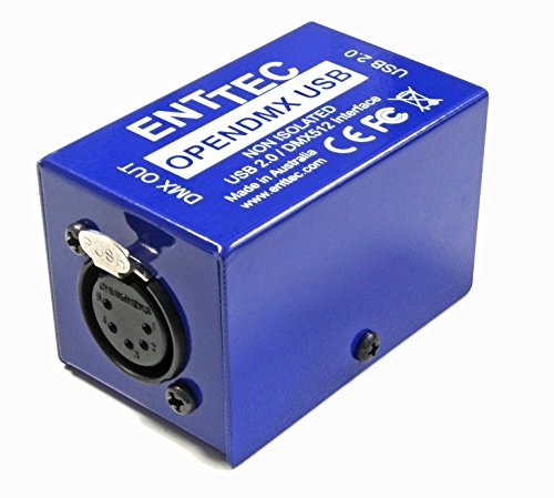 Enttec 70303 Open DMX USB Lighting Interface Controller Widget (Open Source/Hardware Only) by SIRS-E