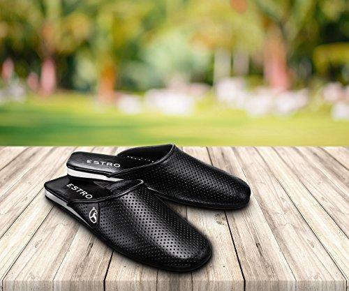 ESTRO SENATOR esclusive pantofole uomo in pelle