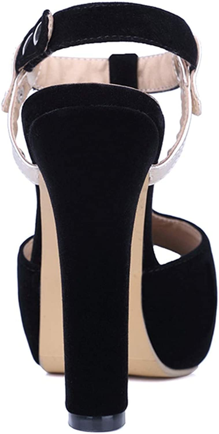 Size 32-43 Women High Heel Sandals T Tied Open Toe Platfrom Rivets Ladies Sandals Fashion Vintage Shoes Party Shoes