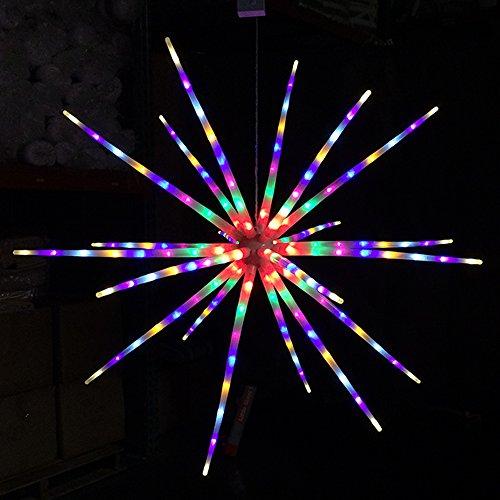 Alion Home Shooting Star LED Meteor Ball- 3ft Diameter, 20 Light Tubes (1, - Star Meteor