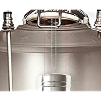 UP100 70mmx300mm Dry Hopper Brewing Filter for Cornelius