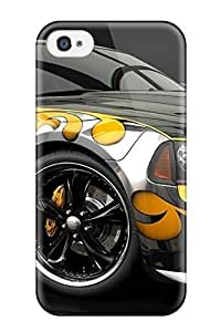 FofmSDE2511rdnuJ Jeremy Myron Cervantes Awesome Case Cover Compatible With Iphone 4/4s - Very Colorful Car
