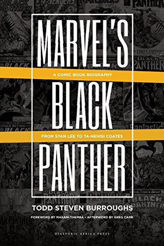 Books : Marvel's Black Panther: A Comic Book Biography, From Stan Lee to Ta-Nehisi Coates