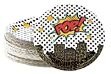 Disposable Plates - 80-Count Paper Plates, Superhero Party Supplies...