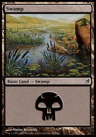 Magic: the Gathering - Swamp (292) - Lorwyn