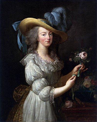 Odsan Gallery Marie Antoinette In A Muslin Dress - By Louise Élisabeth Vigée Le Brun - Canvas Prints 16