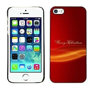 YOYO Slim PC / Aluminium Case Cover Armor Shell Portection //Christmas Holiday Merry 1211 //Apple Iphone 5 / 5S