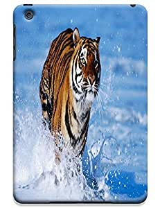 Tiger Case Cover Hard Back Cases Beautiful Nice Cute Animal hot selling cell phone cases for Apple Accessories iPad Mini # 23