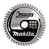 Makita B-09298 165 x 20 mm Specialized Circular Saw Blade for Plunge Saws with 48 Tooth - Red/Sil
