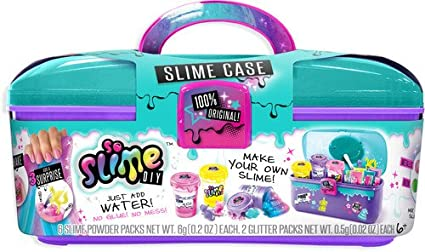so slime diy vanity case just add water no mess for kids amazon