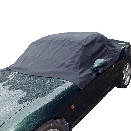 Mazda Miata MX5 Mk1 Mk2 Mk2.5 Soft Top Roof Protector Half Cover - 1990 to 2005