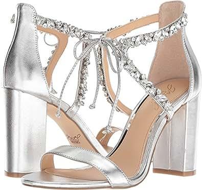 Badgley Mischka Jewel Women's Thamar Silver Size: 5.5