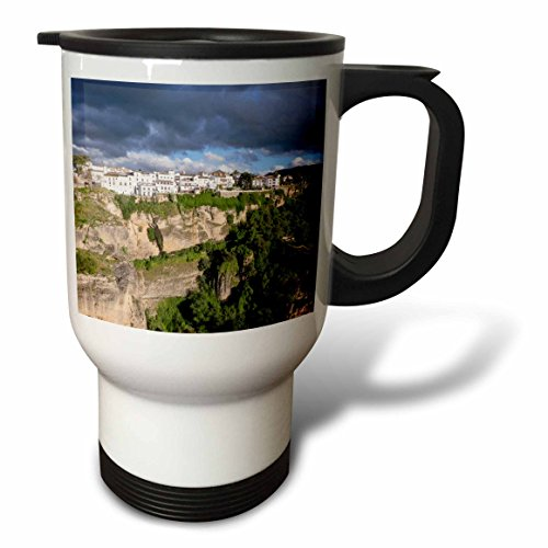 3dRose Danita Delimont - Mountains - Spain, Andalusia, Ronda. - 14oz Stainless Steel Travel Mug (tm_277901_1) by 3dRose