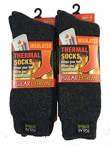 Polar-Extreme-Mens-Thermal-Sock-Pack-of-2