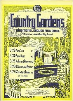 country gardens traditional english folk dance sheet. Black Bedroom Furniture Sets. Home Design Ideas