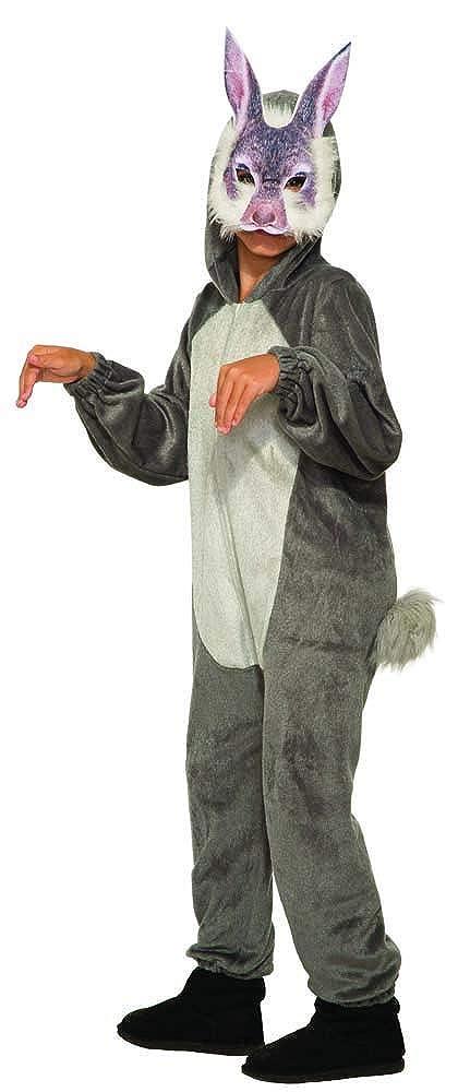 Forum Bunny ジャンプスーツとマスク 子供用コスチューム M マルチ B07CTLNMZ4