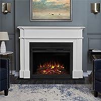 Real Flame 8060E-W Harlan Grand Electric...