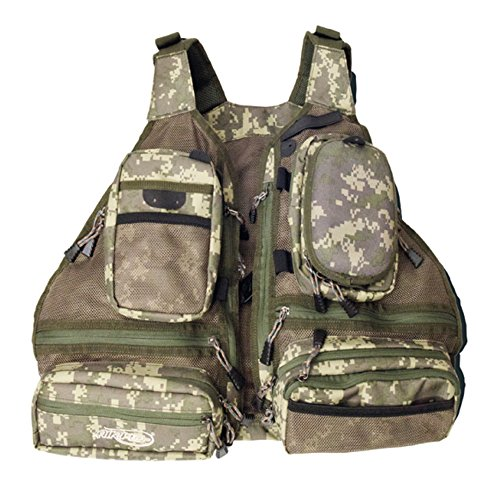 Airflo Lightweight Outlander Covert Camouflaged Fly Fishing Vest