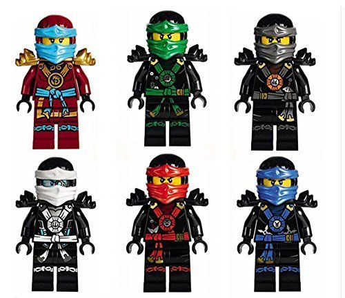 Flying Phantom Ninjago Minifigures, Set of 6