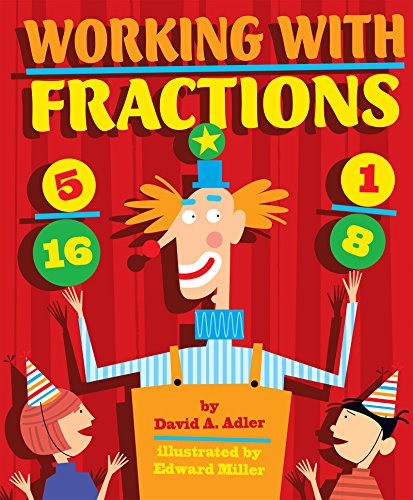 Working with Fractions [David A. Adler] (Tapa Blanda)