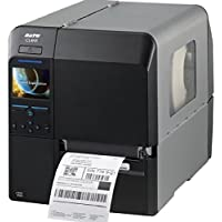 Sato WWCL30161 Series CL4NX High Performance Thermal Printer, 609 dpi Resolution, 6 ips Print Speed, Serial/Parallel/Ethernet/USB/Bluetooth Interface, Cutter, 4