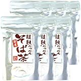 Japanese Tea Shop Yamaneen Dattan Soba Tea Without Agricultural Chemicals Made In Hokkaido 300G x 6packs