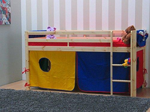 Thuka Etagenbett Mit Rutsche : Thuka kinder hochbett zubehör blau rot gelb kinderbett