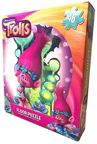 [Trolls Floor Puzzle 46Pc] (Horror Movie Costumes Homemade)