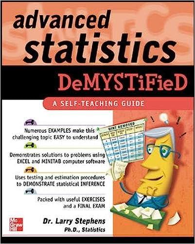 Amazon.com: Advanced Statistics Demystified (9780071432429): Larry ...