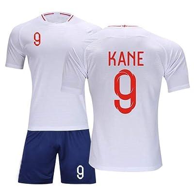 APSJ Uniformes de fútbol for adultos GGLV Chándales 9 Jerseys de fútbol Kane Pantalones cortos Club Team Boys Ropa de fútbol Conjuntos de manga corta Niños 008 (Color : B, Size : E)