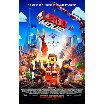 amazoncom lego movie quotbquot 11x17 inch promo movie poster