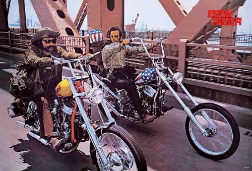 J-4278 Easy Rider Wall Decoration Movie Poster Size 24