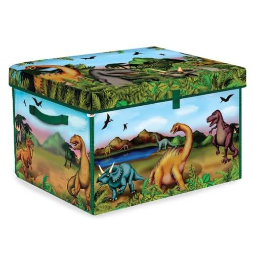 dam sprl boite de rangement et tapis de jeu dinosaures la caverne du jouet. Black Bedroom Furniture Sets. Home Design Ideas
