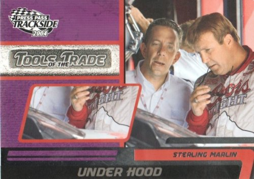 2004 Press Pass Trackside NASCAR Racing #107 Sterling Marlin Tools of the Trade ()